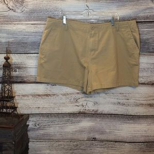 NWOT Old Navy Dark Tan Jean Shorts